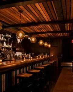 Interior of Bodega Negra