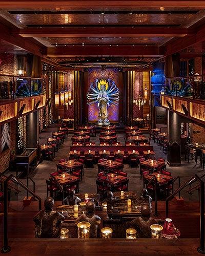 Interior of Tao Restaurant