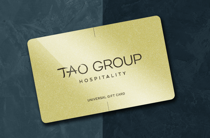 Tao Group Hospitality Classic Gift Cards