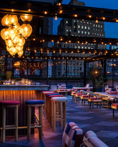 Rooftop bar of Magic Hour