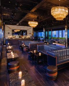 Interior of PHD Lounge NYC