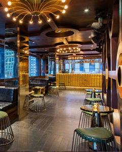 Interior of PHD Terrace NYC