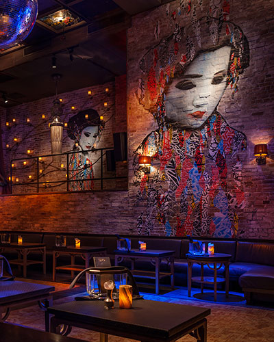 Interior of Tao Downtown Nightclub NYC