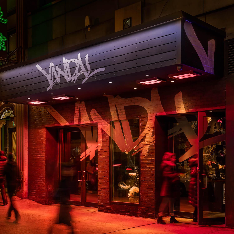 vandal new york exterior