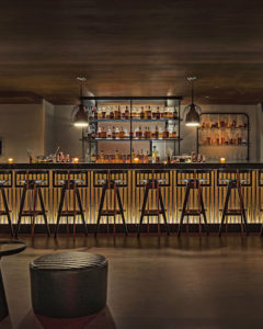 Interior of Interior of Alphabet Bar in New York