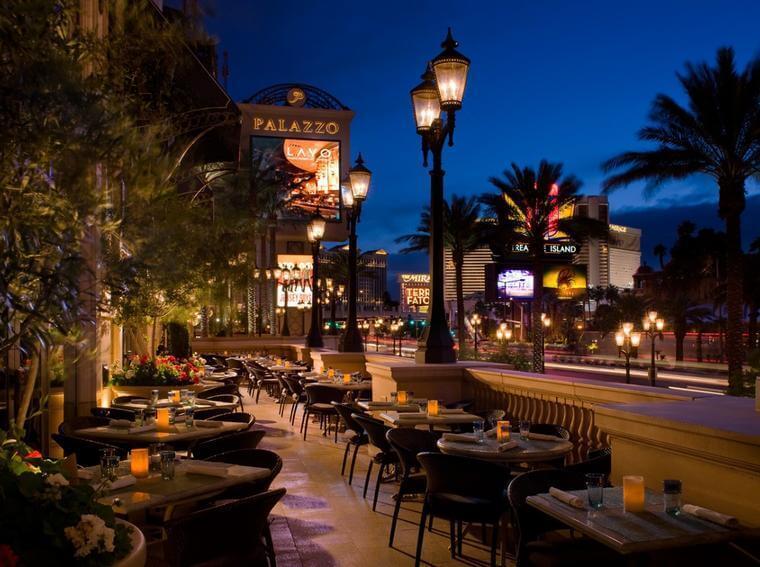 Lavo Las Vegas Outdoor Seating