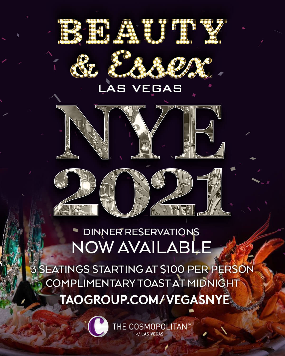 Las Vegas New Year's Eve | Tao Group Hospitality