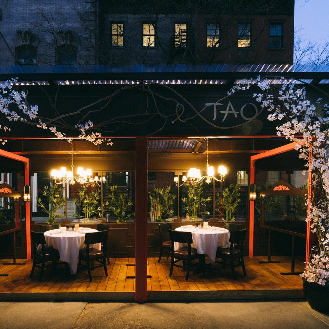 TAO Downtown Outdoor Dining