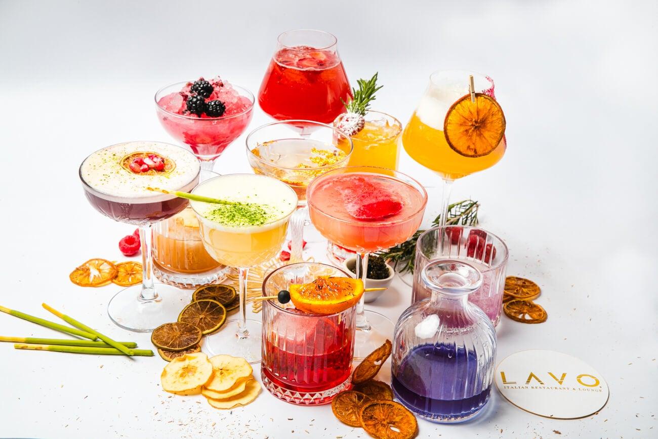 las vegas cocktail menu