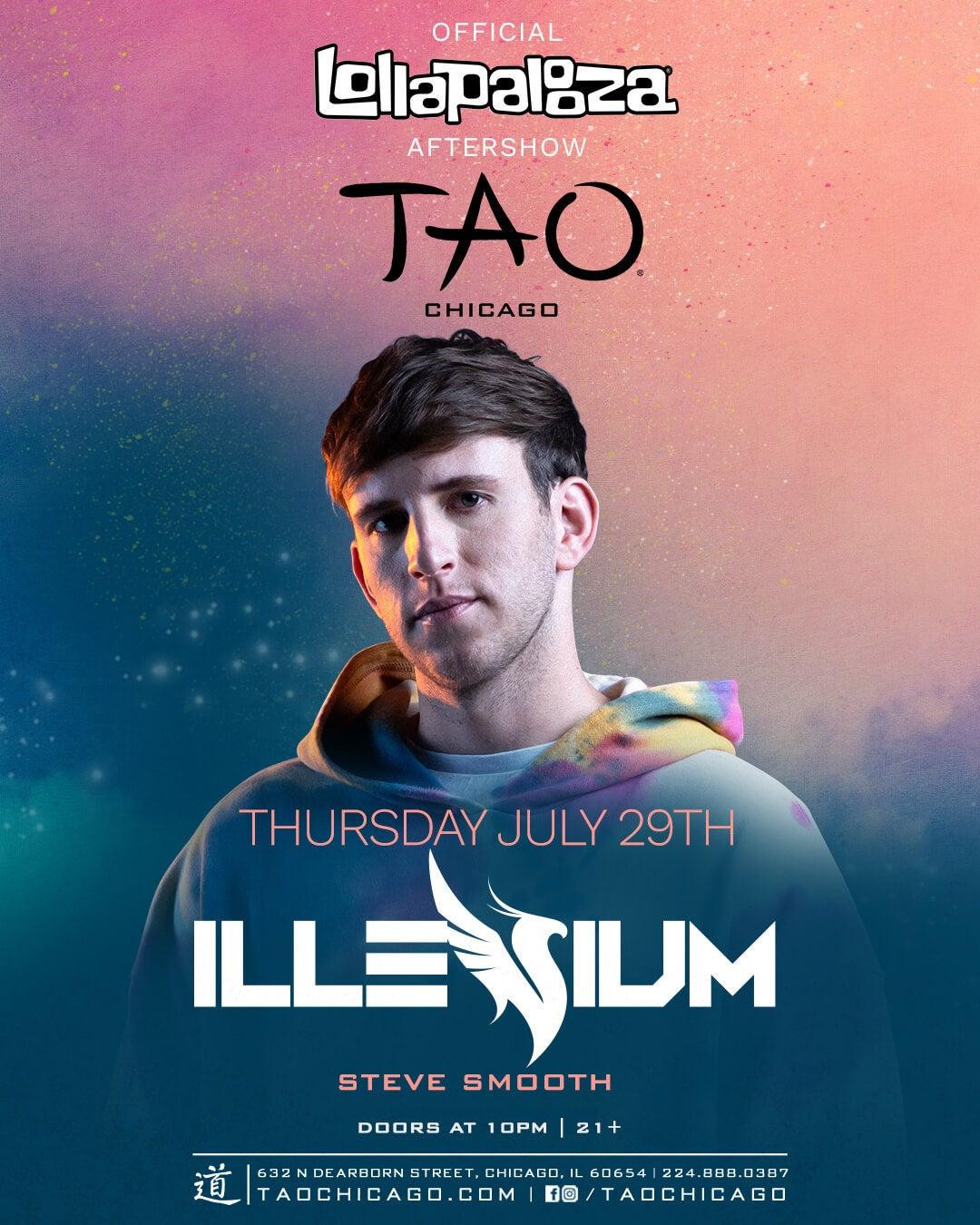 7/29/21 ILLENIUM TAO Nightclub – Chicago