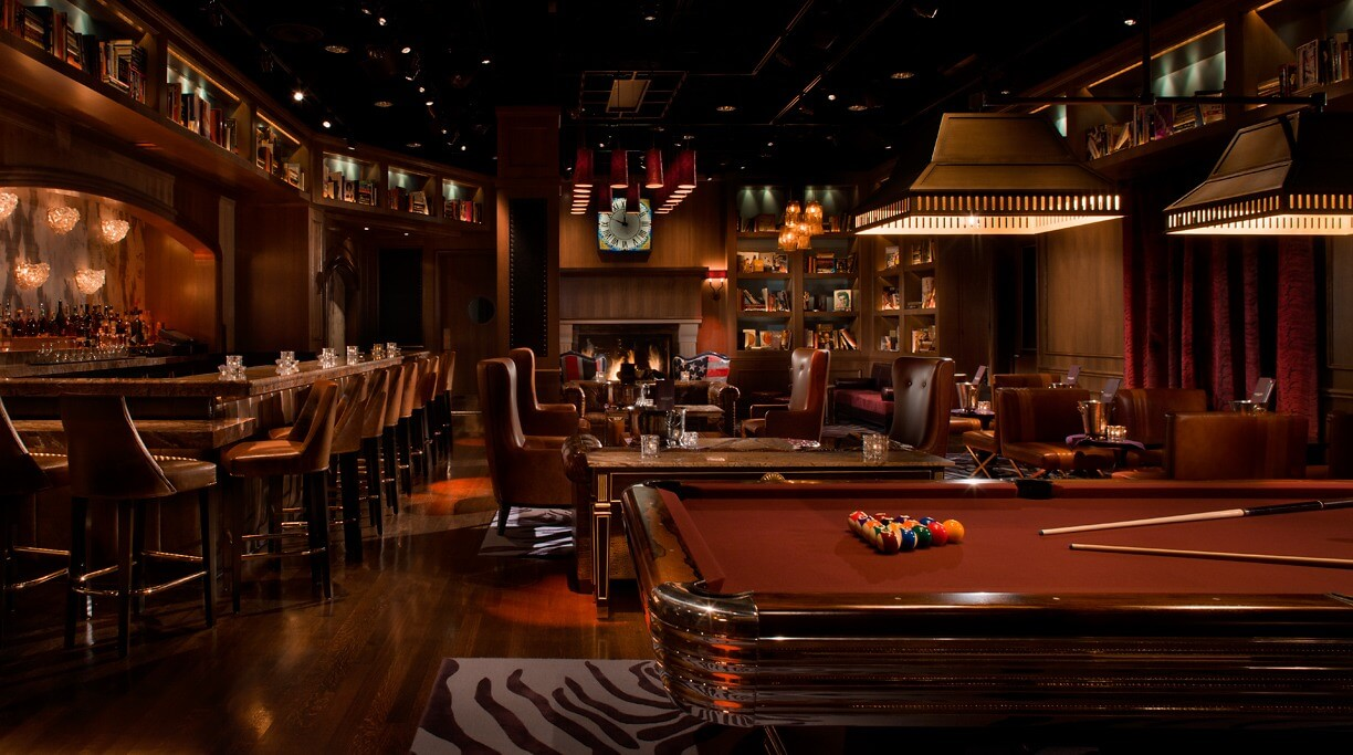 the library lounge at marquee las vegas