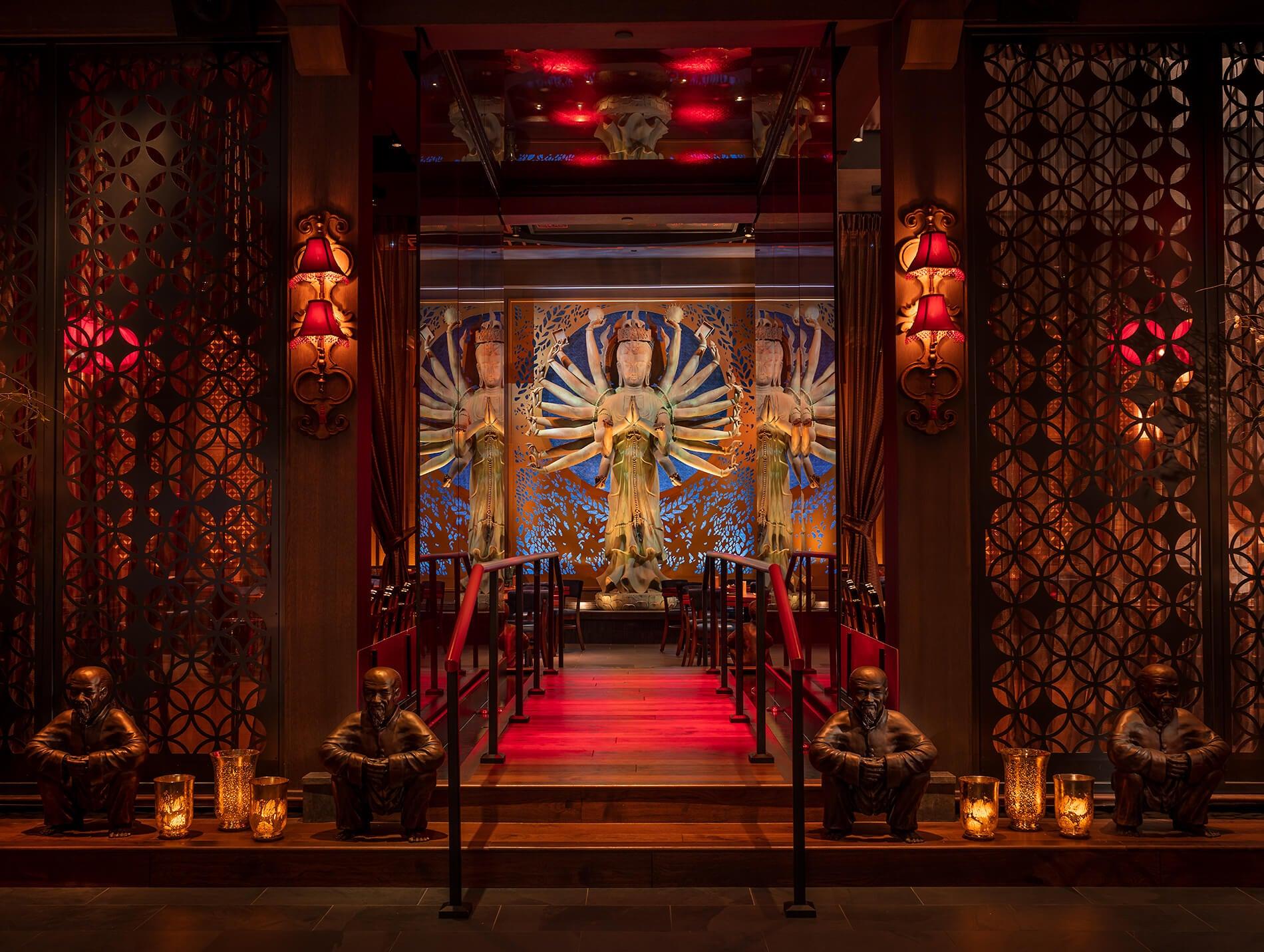 TAO Mohegan Sun Entryway